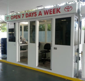 service booth