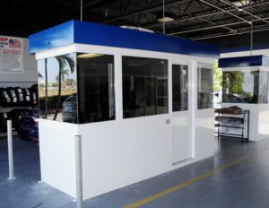 service booths